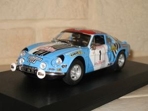 Alpine Renault A110 Tour de Corse 1973