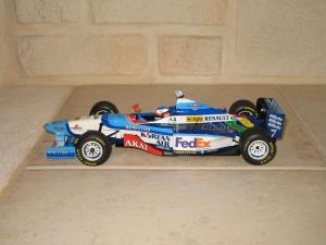 Benetton Renault - B197 (1997) - JA. vue profil
