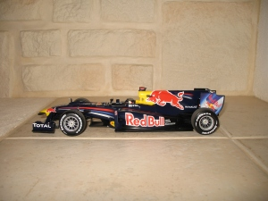 Red Bull Racing - RB6 (2010) - SV. vue profil