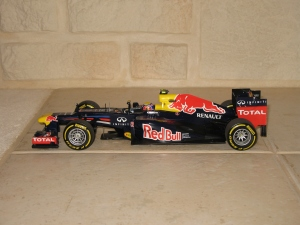 Red Bull Racing - RB8 (2012) - MW. vue profil