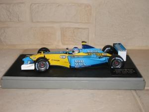 Renault F1 Team - R202 (2002) - JT. vue profil