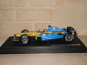 Renault F1 Team - R24 (2004) - FA. vue profil