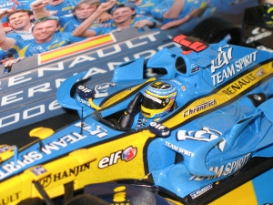 Renault F1 Team - R26 (2006) - FA - CDM pilotes et constructeurs. vue pilote