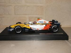 Renault F1 Team - R27 (2007) - HK. vue profil