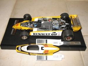 Renault - RE20 (1980) - JPJ. vue moteur