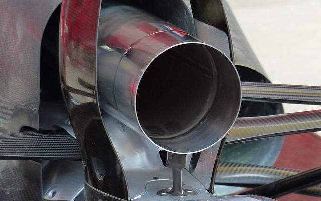 exhaust experimental ferrari F14T