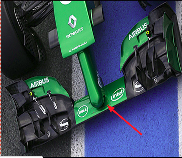 front wing Caterham CT5